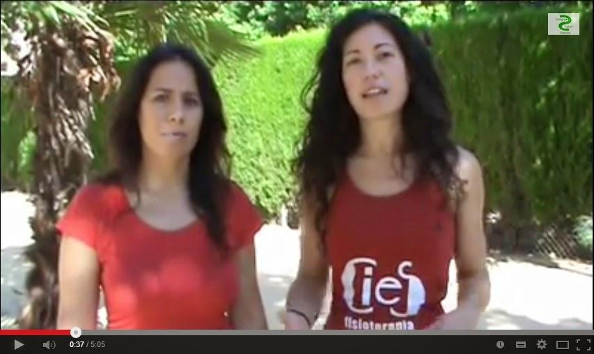 Irene Fraile y Estela López. Cies Fisioterapia.