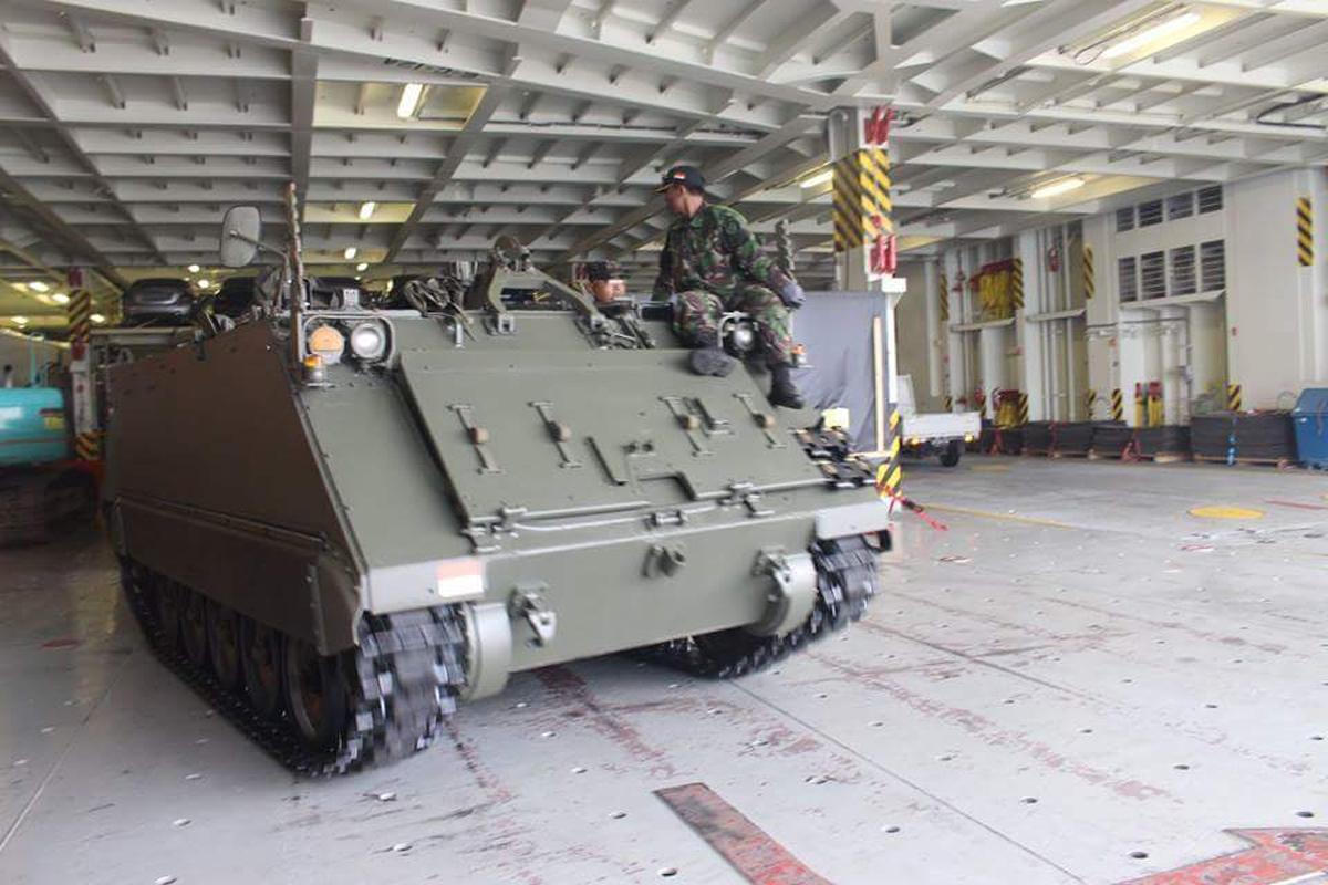 M113 A1-TNI Angkatan Darat