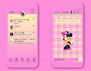 Mickey Cute Theme For YOWhatsApp & Fouad WhatsApp By Mary Silva