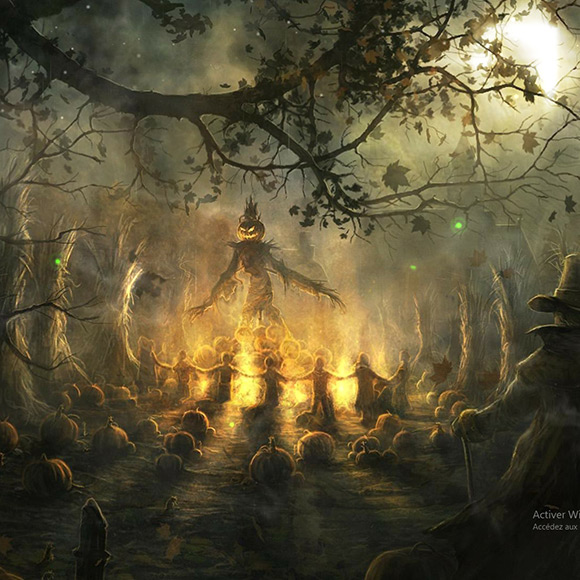 Spooky Halloween Wallpaper Engine