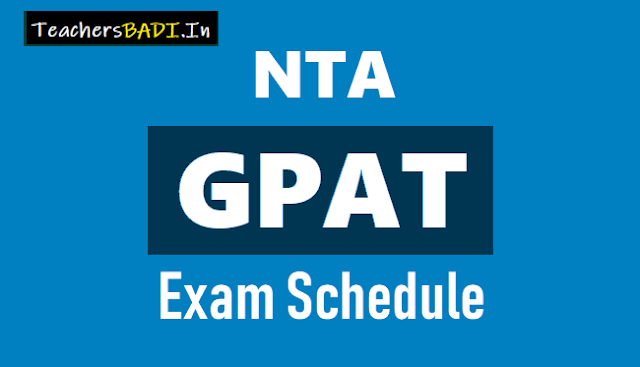 nta gpat exam schedule 2018,nta gpat exam dates 2018,nta gpat admit cards,nta gpat results,nta gpat online application form,Graduate Pharmacy Aptitude Test