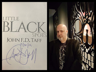 Little Black Spots, signed by author John FD Taff (plus Book one of The Fearing)