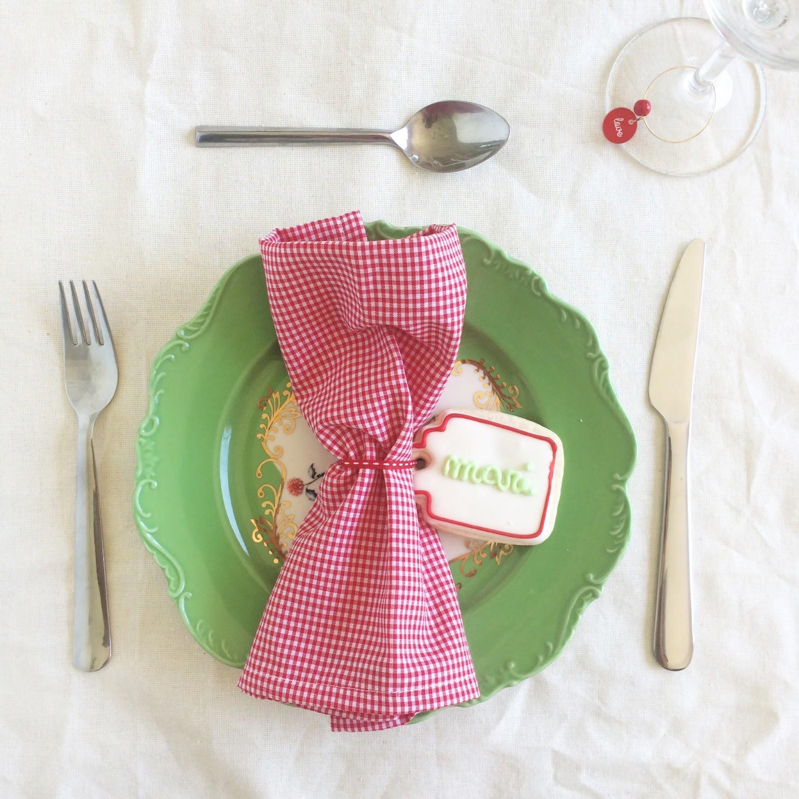 5 ideas para poner linda tu mesa de Navidad y Año Nuevo. / Sólo para Mí