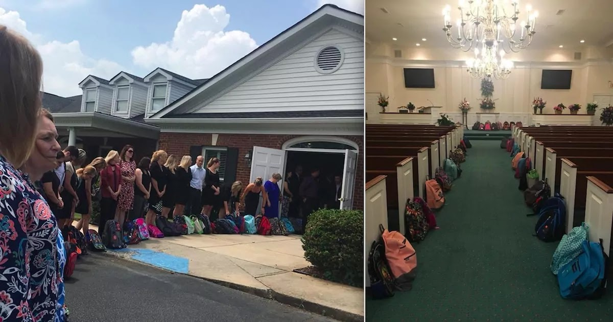 Teacher Asked For Backpacks Full Of Student Supplies At Her Funeral Instead Of Flowers, And Her Wish Was Granted