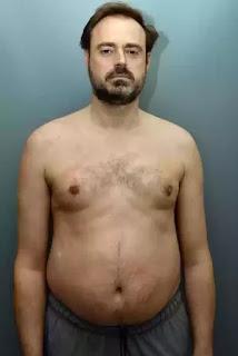 Jamie Theakston weight loss