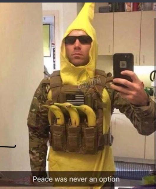 He's gone Bananas