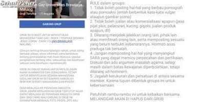 Grup Facebook Yang Tidak Boleh Berbau Pornografi