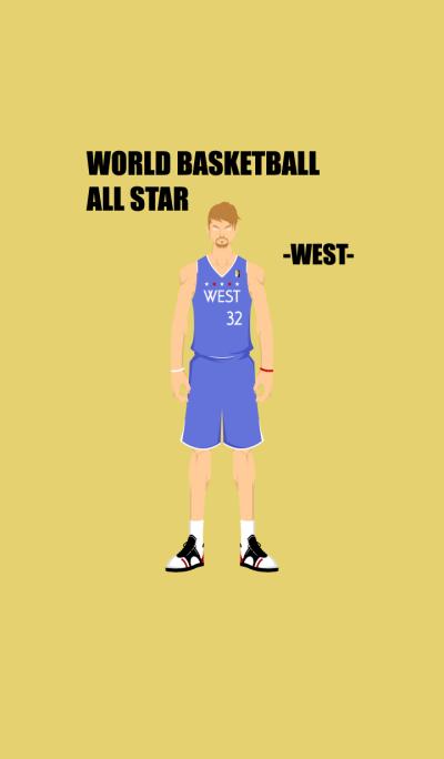 WORLD BASKETBALL ALL STAR -WEST-