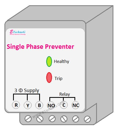 single phase preventer