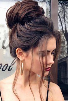 peinados elegantes chongos