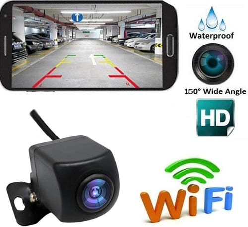 GoolRC Backup HD WiFi Rear View Camera for Car