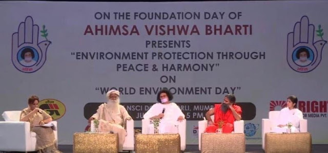 Ahimsa Vishwa Bharti Launched International Campaign for Environment Protection