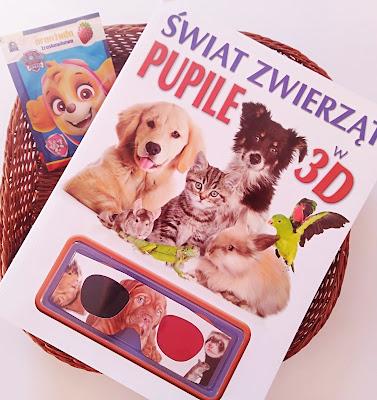 """Świat zwierząt. Pupile w 3D"" Lisa Regan"
