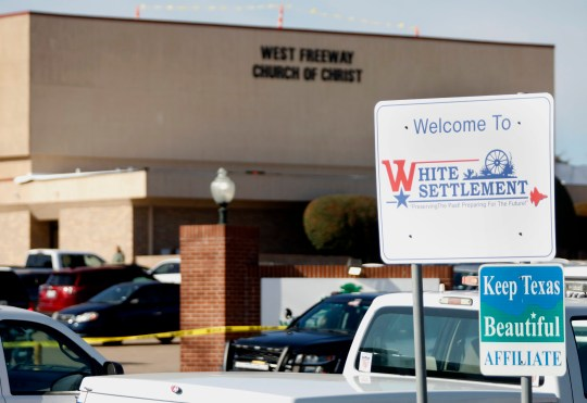 Gunman came into church and was shot by member of congregation