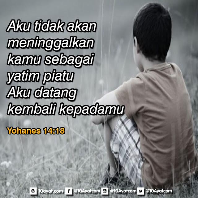 Yohanes 14:18