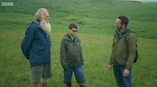Nick Bailey meets Rod and Rachel Saunders