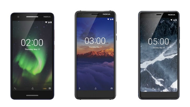 Nokia 2 (2018), Nokia 3 (2018), Nokia 5 (2018) Launched: Price, Specifications, Features