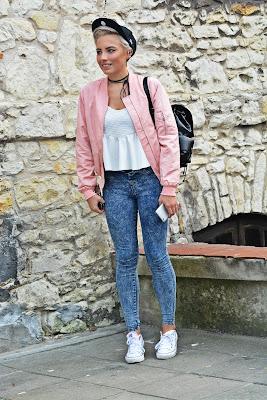 pink_bomber_blue_jeans_karyn