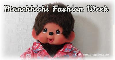 kiki Monchhichi bear wear kimono yukata clothes plush chemise Hawaii shirt