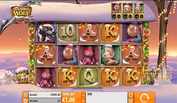 Main Slot Gratis Indonesia - Big Bad Wolf Christmas Special (Quickspin)