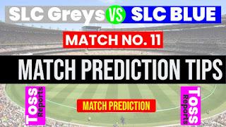 Match 11th Sri Lanka Invitational: SLBL vs SLGY Today cricket match prediction 100 sure