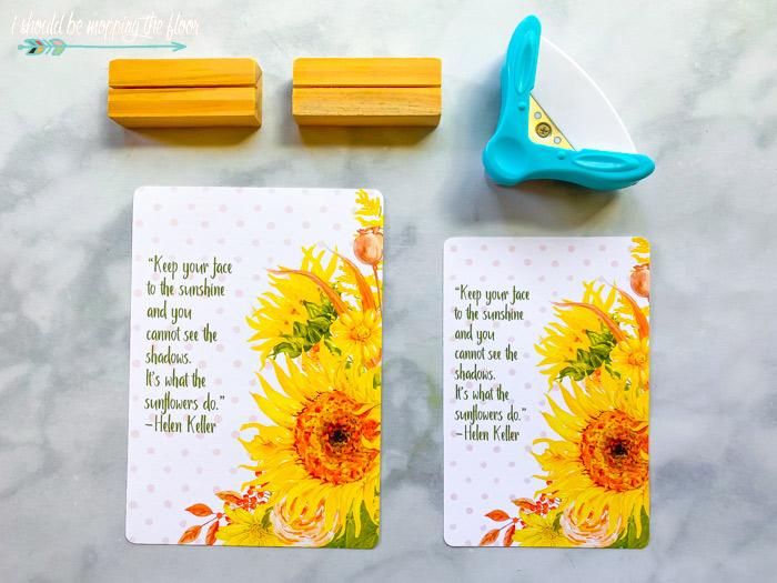 Free Sunflower Printables