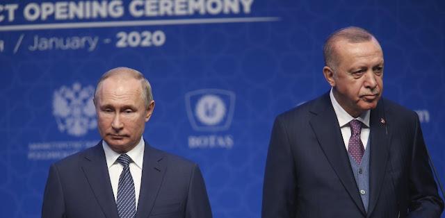 Ο Πούτιν πρότεινε στον Μητσοτάκη να μιλήσει στον Ερντογάν