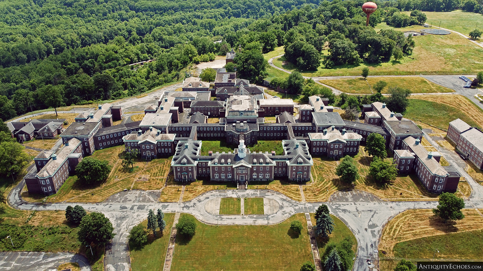 Allentown State Hospital - Drone Shot of Campus