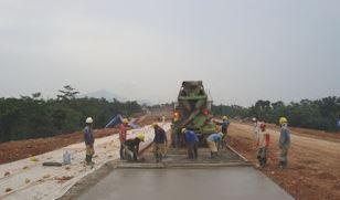 Metode Kerja Rigid Pavement (Perkerasan Beton) Jalan Tol
