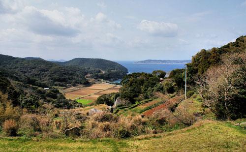 Scenery on Hirado Island, Nagasaki.