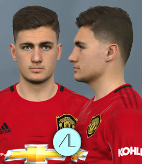 PES 2017 Faces Diogo Dalot by Alief