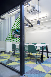 Green Pear Diaries, Google Campus Madrid, arquitectura, interiorismo, España