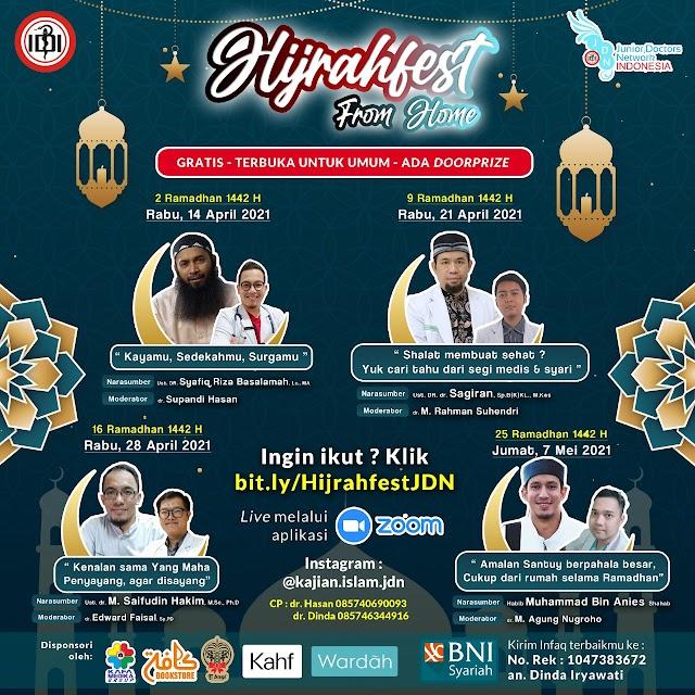 Hijrahfest from Home (GRATIS-Terbuka Untuk Umum)