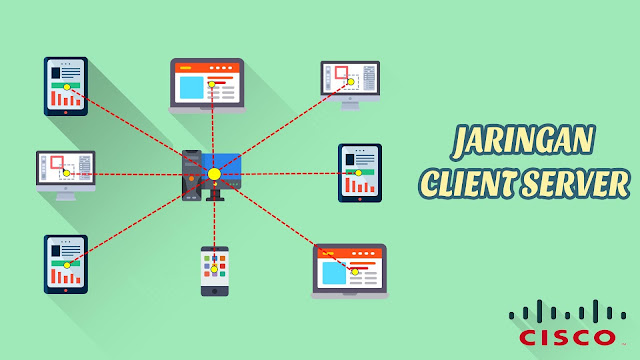 Jaringan Client Server Menggunakan Software Cisco Packet Tracer