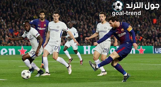 نتيجة مواجهة برشلونة وتشيلسي في مواجهة ودية