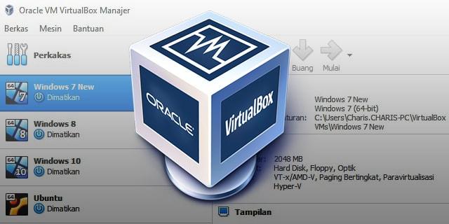 Cara Screenshot VirtualBox Gampang Cuma Satu Detik