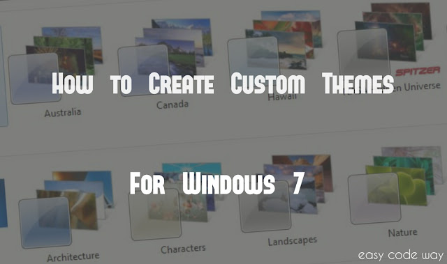 Create Custom Windows 7 Theme