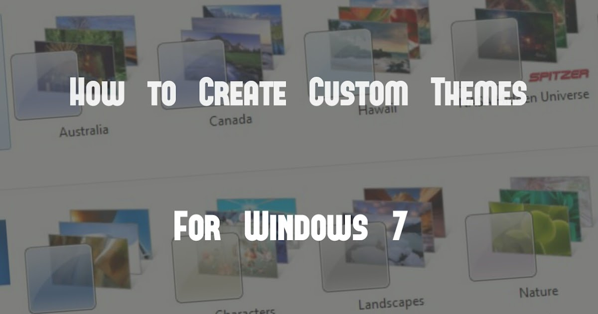 Make custom thesis theme
