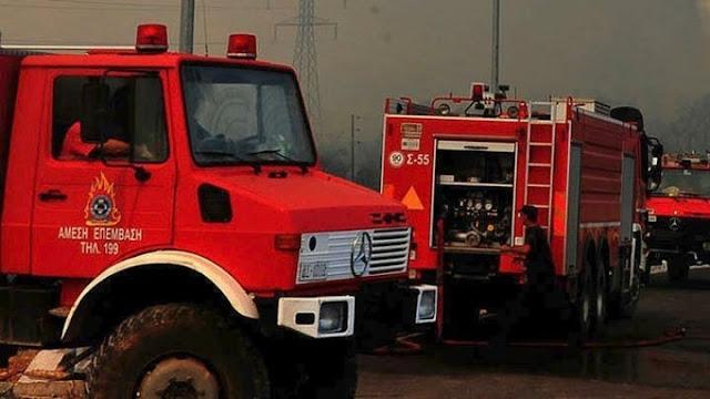 Σύλληψη από την Πυροσβεστική για εμπρησμό στην Αργολίδα