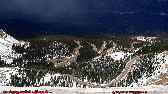 Pikes Peak Scenic Drive