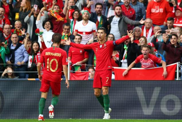 تأهل منتخب البرتغال لنهائي دورى الأمم الأوروبية بعد تغلبه على سويسرا