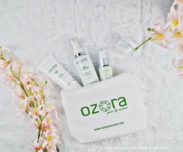 Ozora Skincare Routine