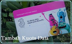 Cara Tambah Kuota Data dengan Voucher Tri