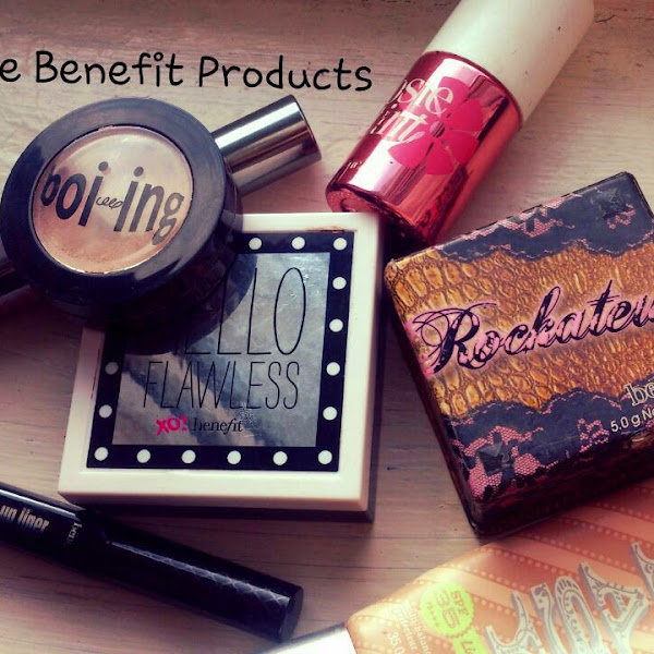 My Top Five Benefit Products