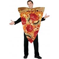 disfraz de trozo de pizza