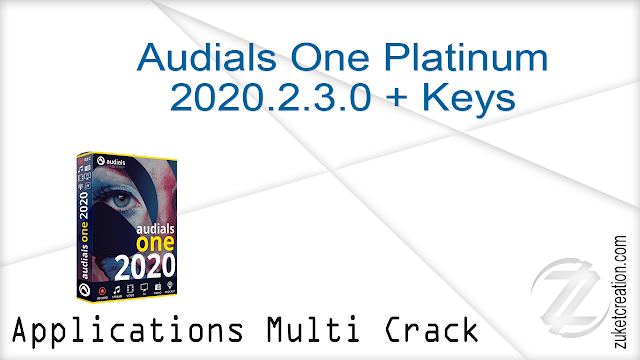 Audials One Platinum 2020.2.3.0 + Keys