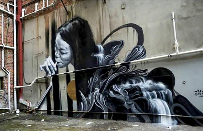 ARTIST: Caratoes (BE/HK) @caratoes