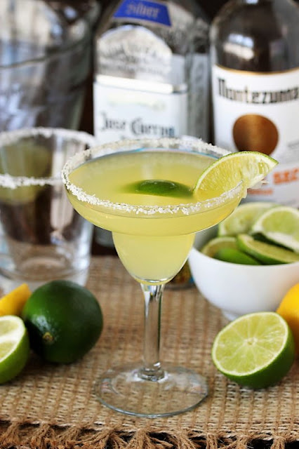 Emeril's Fresh Margarita with Homemade Citrus Syrup Image
