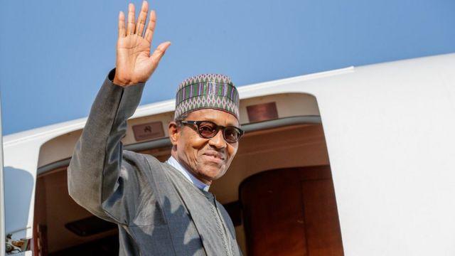 Buhari in Lagos: Nigeria President Muhammadu Buhari commission Lagos-Ibadan railway to begin commercial operations