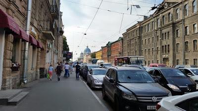Calles San Petersburgo